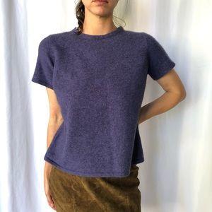 VINTAGE   100% Cashmere minimalist sweater